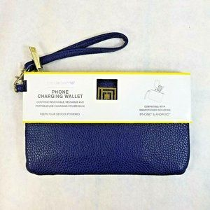 Liz Claiborne iPhone/Android Charging Wallet